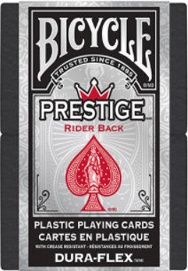 Prestige Rider Back Red Playing Cards