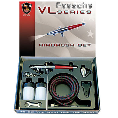 Paasche Airbrush VL-Set with 3 tips