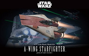 Star Wars 1/72 A-Wing Starfighter