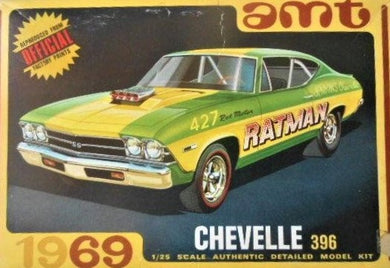 1/24 1969 Chevy Chevelle 396