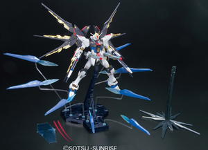 MG 1/100 Strike Freedom Full Burst Mode