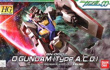 Load image into Gallery viewer, HG 1/144 00 GN-000 0 Gundam (Type A.C.D.)