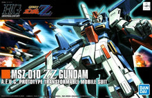 Load image into Gallery viewer, HGUC 1/144 MSZ-010 ZZ Gundam