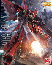 Load image into Gallery viewer, MG 1/100 MSN-06S Sinanju