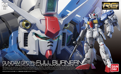 RG 1/144 Gundam GP01FB Full Burnern