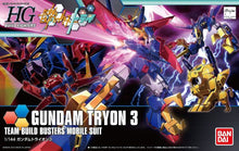 Load image into Gallery viewer, HGBF 1/144 Gundam Tryon 3