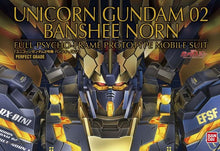 Load image into Gallery viewer, PG 1/60 Unicorn Gundam 02 Banshee Norn