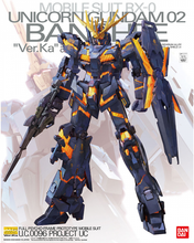 Load image into Gallery viewer, MG 1/100 Unicorn Gundam 02 Banshee Ver.Ka
