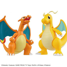 Load image into Gallery viewer, Pokemon Charizard & Dragonite Plamo Model Kit