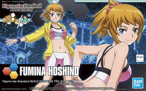 Figure-Rise Build Fighter Fumina Hoshino