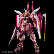 Load image into Gallery viewer, MG 1/100 JUSTICE GUNDAM (CLEAR COLOR) (CONVENTION EXCLUSIVE)
