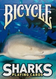 Sharks Playing Cards