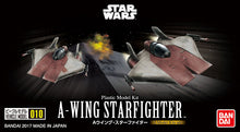Load image into Gallery viewer, Star Wars Vehicle Model #010 1/144 A-Wing Starfighter