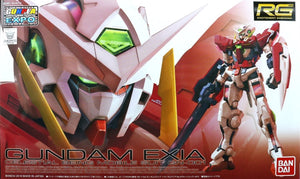 RG 1/144 GUNDAM EXIA TRANS-AM CLEAR (CONVENTION EXCLUSIVE)