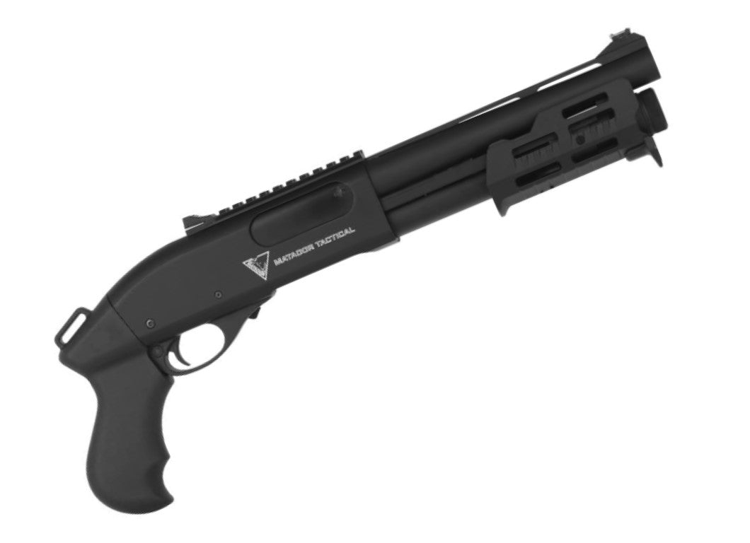 Green Gas Shotgun Max Shorty Black (CSG-006-BK)