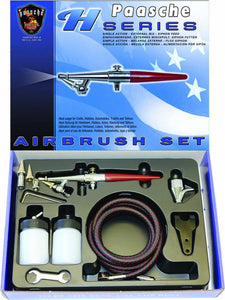 Paasche Airbrush H-Set with 3 tips