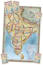 Load image into Gallery viewer, Ticket to Ride: India & Switzerland Map Collection