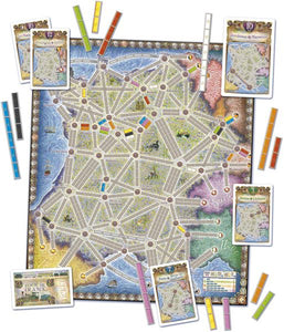 Ticket to Ride: France & Old West Map Collection