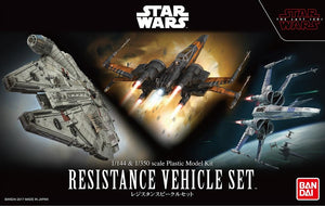 Star Wars 1/144 & 1/350 Resistance Vehicle Set