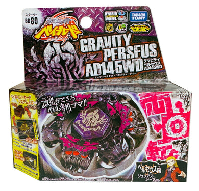 Beyblade Metal Fusion BB80 Gravity Perseus AD145WD
