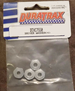 Driver Washers (4) for Duratrax Maximum Series