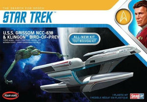 1/1000 Star Trek 2 USS Grissom & Klingon Bird of Prey