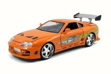 Load image into Gallery viewer, 1/24 Fast & Furious Brian's Toyota Supra Orange
