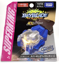 Load image into Gallery viewer, Beyblade Burst B-166 L String Sparkling Blue Launcher (Super King)