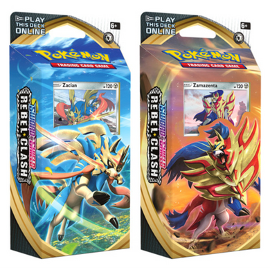 POKEMON THEME DECKS REBEL CLASH
