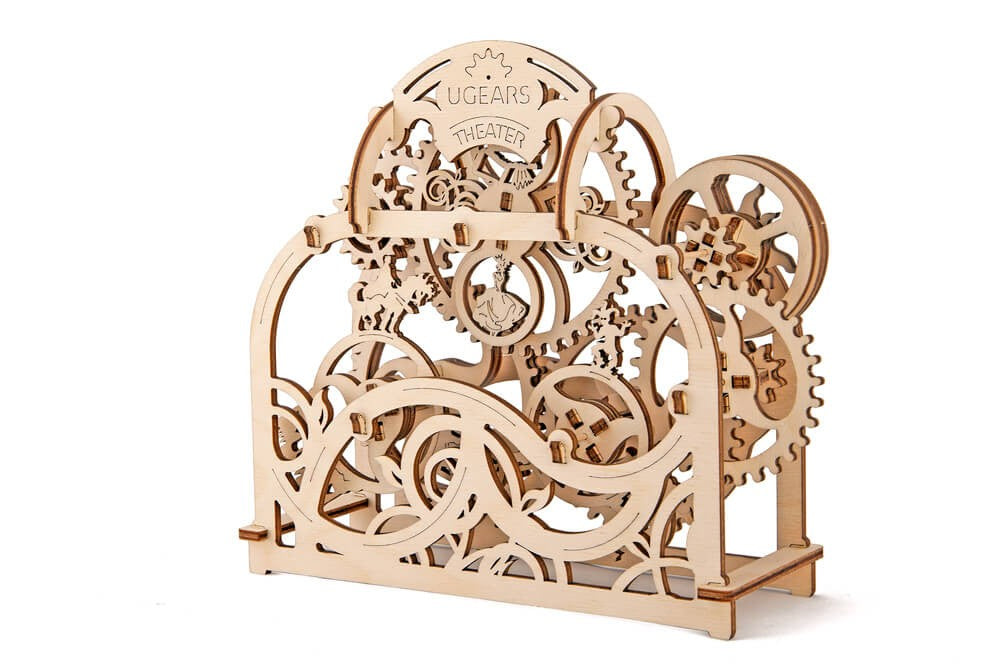 Wooden Theater Mechanical Model