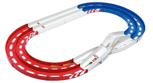 Mini 4WD Oval Home Circuit (Two-Level Lane Change) (Red/White/Blue)