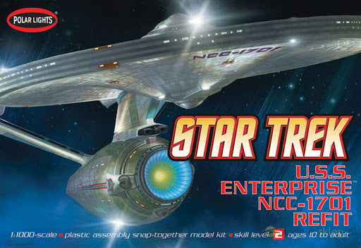 Star Trek 1/1000 U.S.S. Enterprise NCC-1701 Refit