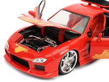 Load image into Gallery viewer, 1/24 Fast & Furious Orange Julius Mazda RX-7