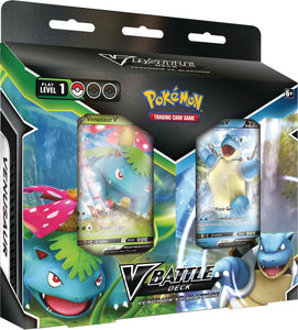 Pokemon Battle Deck Blastoise V vs Venusaur V