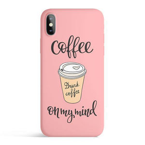 Coffee On My Mind - Phone Case Planet