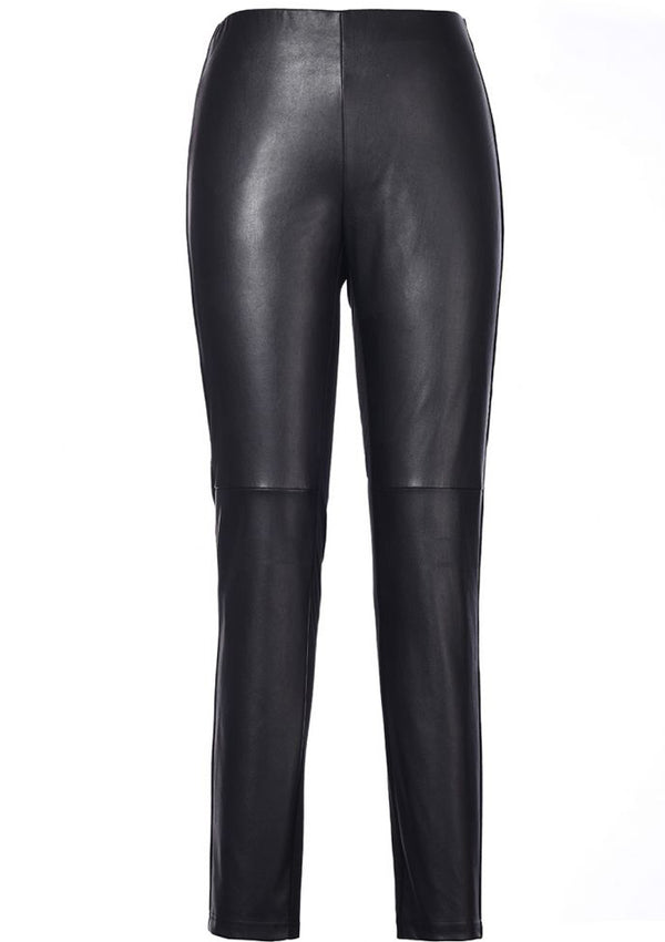 Sara fake leather leggings