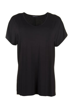 Sandgaard basis t-shirt i sort