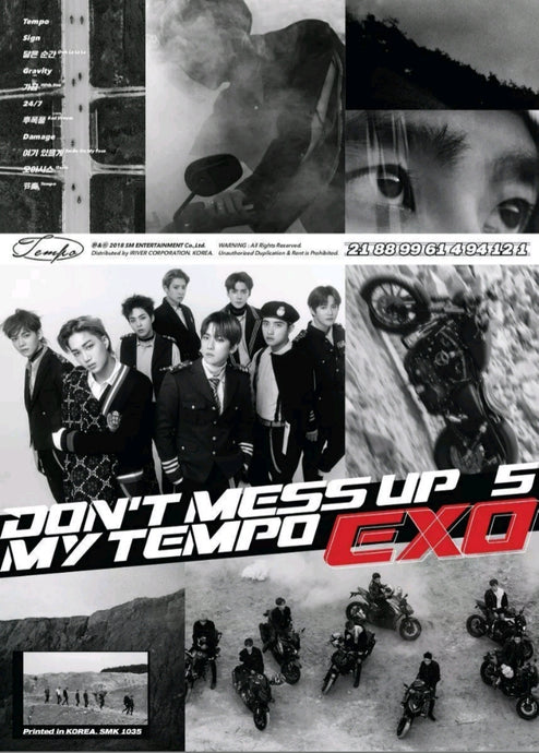 Exo [Don't Mess up my Tempo] 5.th Album All Vers.