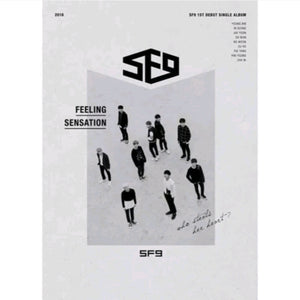 SF9 Feeling Sensation Album