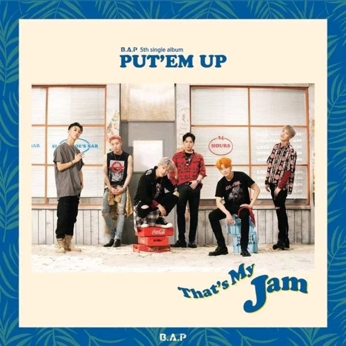 B.A.P Put'em up 5.th Single Album