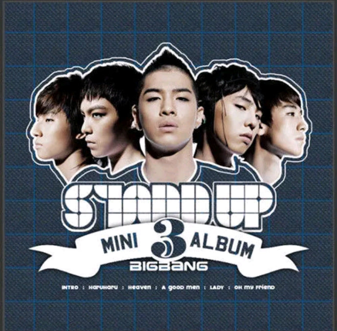 Big Bang 3.rd Mini Album Stand up