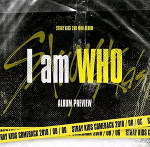 Stray Kids I am Who 2.nd Mini Album