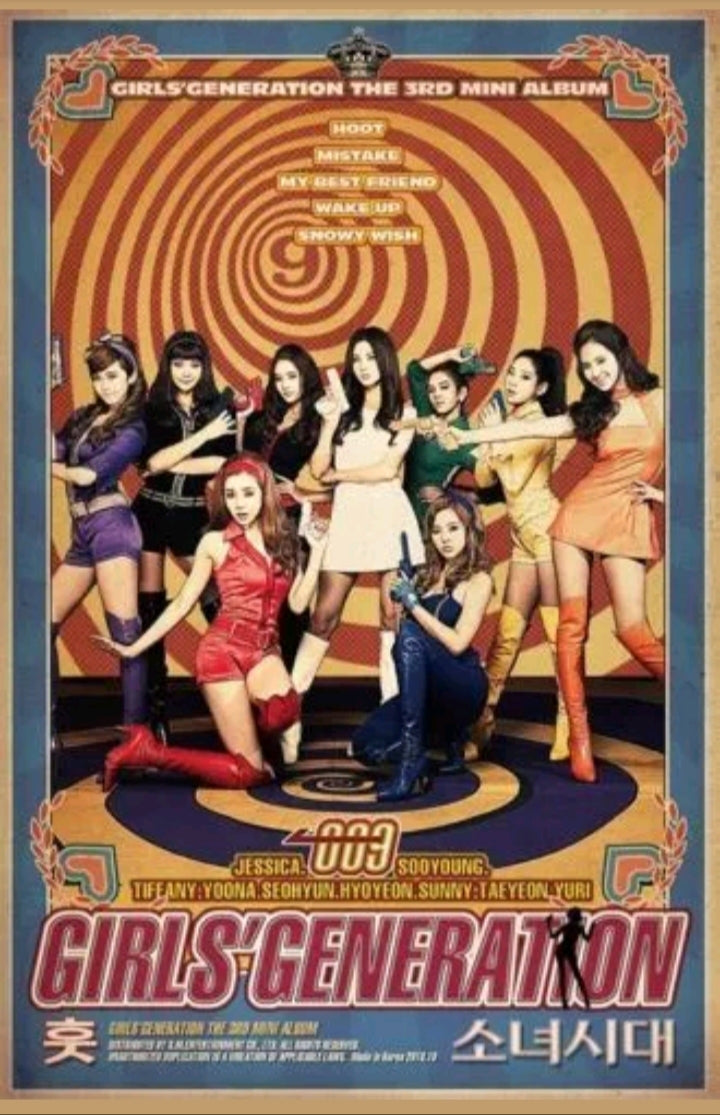 Girls Generation Hoot 3.rd Mini Album