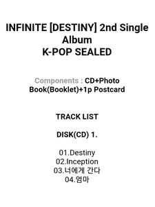 Infinite Destiny 2.nd Single Album