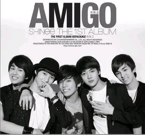 Shinee [Amigo] 1.st Repackage Album
