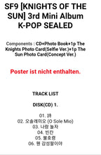Laden Sie das Bild in den Galerie-Viewer, SF9 [Knights of the Sun] 3.rd Mini Album