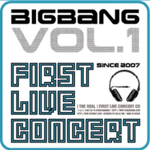 Laden Sie das Bild in den Galerie-Viewer, Big Bang [The real Vol.1] 1.St Live Concert Album
