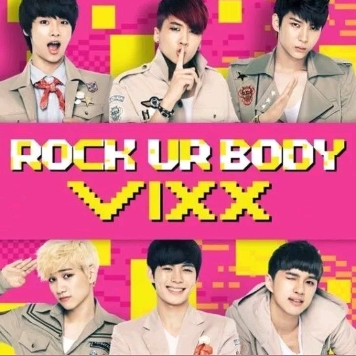 VIXX [Rock your Body] 2.nd Single Album