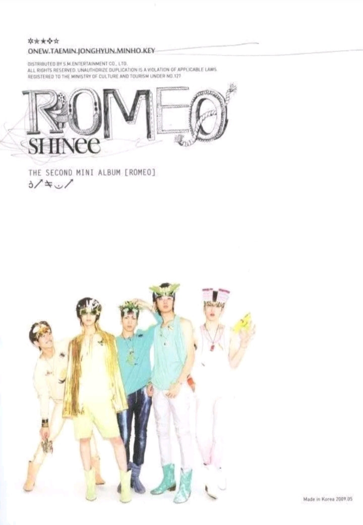 Shinee [Romeo] 2.nd Mini Album