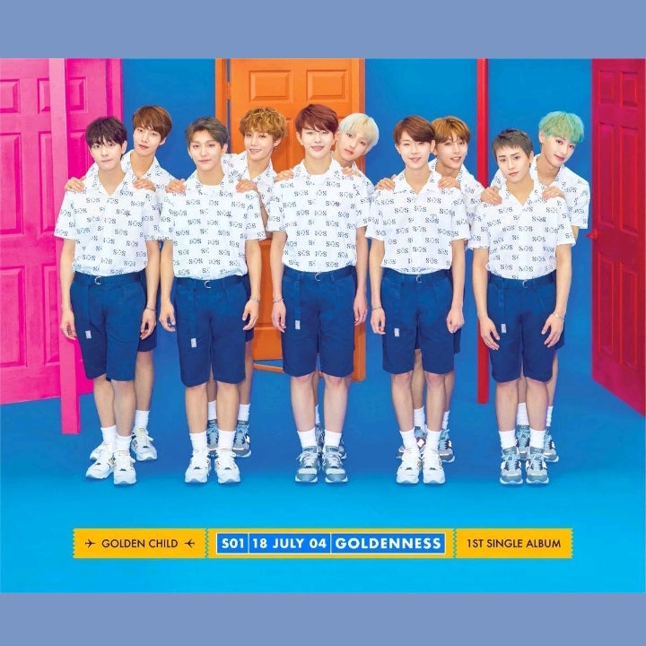 Golden Child 1.st Single Album